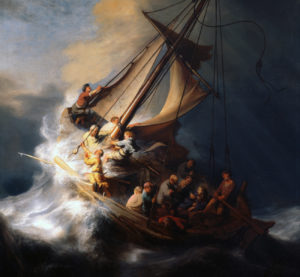 disciples at sea